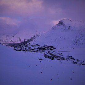 Purple Dusk, Tignes